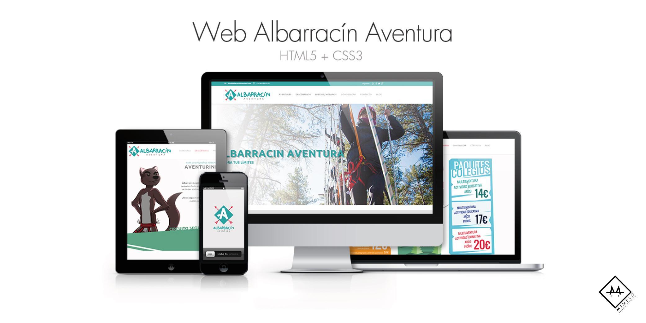 Albarracín Aventura - Mimelo Estudio Creativo