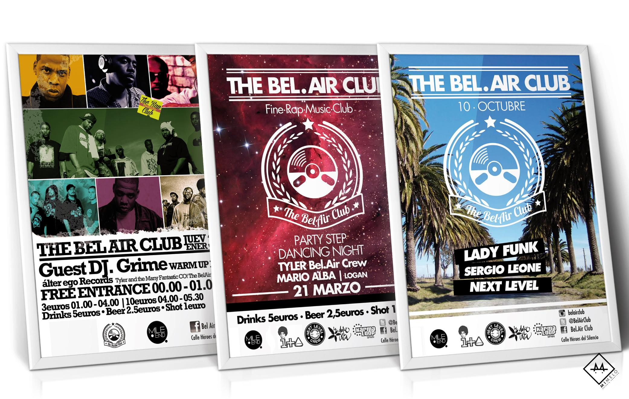BelAir Club - Mimelo Estudio Creativo
