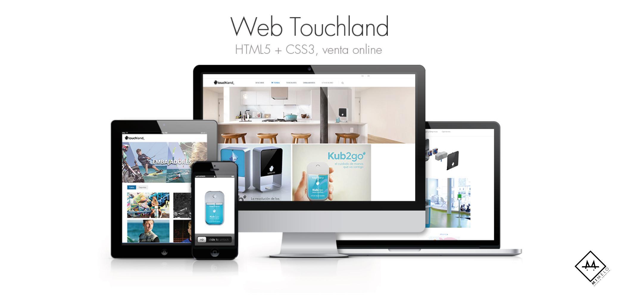 Touchland - Mimelo Estudio Creativo